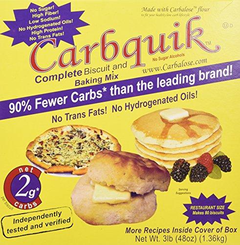 Low-Carb Option: Carbquik Baking Mix, 3 lb (48 oz)