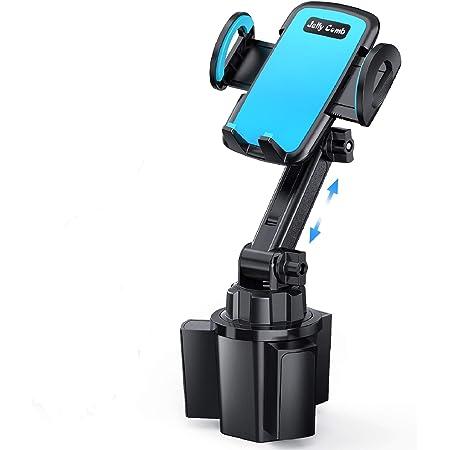 Auto Becherhalter Handyhalterung Jelly Comb Verstellbarer Auto Becherhalter Universelle Handy Halterung Für Iphone 6s 7 Plus 8 X Xs Max Xr 11 Pro Samsung S7 Edge S8 Plus Note 9 S10 Schwarz Elektronik
