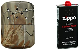 Zippo Hand Warmer, 12-Hour - Realtree AP Camouflage with Lighter Fluid, 12 oz.