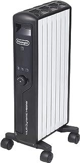 デロンギ(DeLonghi)マルチダイナミックヒーター ゼロ風暖房 ピュアホワイト+マットブラック [6~8畳用] MDHU09-BK