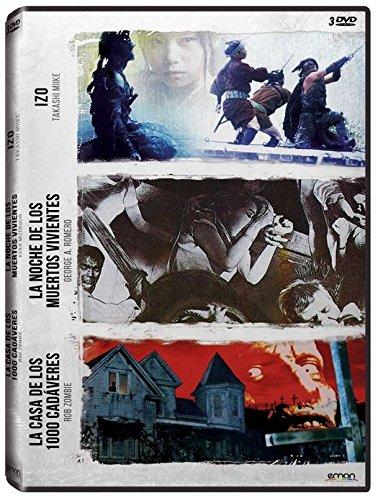 Pack: Zombie + Romero + Miike (La Casa De Los 1000 Cadáveres + La Noche De Los Muertos Vivientes + Izo) [DVD]