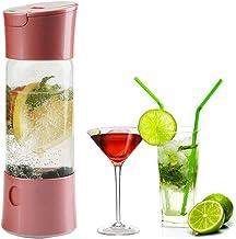 Boisson Mini Manuel Bulle d'eau Sodas Machine Portable Gazéifiée Jus Soda Maker avec Vaporiser Opération Fonction, Home Of...