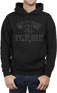 Black Men Boys Pullover Hoodie Sweater Eminem-Rap-God-Slim-Shady-Records- Fleece Long Sleeve