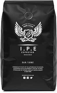 Browny Espresso Blend I.P.E Roasted Coffee Whole Beans - Premium Artisan Roast in 32oz (2 Pounds)