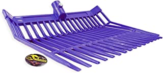 Southwestern Equine Perfect-Scoop Replacement Fork Heads Heavy Duty (Purple)
