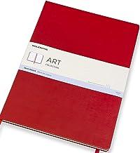 Moleskine - Art Collection Sketchbook, Álbum para Bocetos, Tapa Dura, Papel Adecuado para Bolígrafos, Lápices y Pasteles, Color Rojo Escarlata, Tamaño A3 29,7 x 42 cm, 96 Páginas (COLLECTION ART)