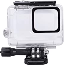 Moligh doll Waterproof Housing for Hero7 White and Hero7 Silver  Protective 45m Underwater Dive Case Shell with Bracket Accessories for Pro Hero7 Action Camera