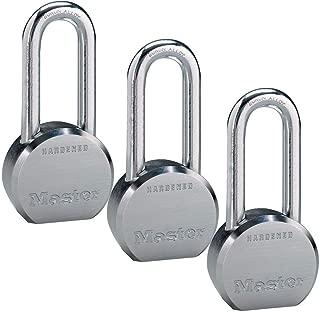 Master Lock - (3) High Security Pro Series Keyed Alike Padlocks 6230NKALH-3 w/ BumpStop Technology