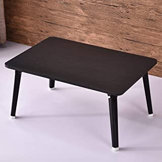 Table Laptop Computer Stands Portable Standing Desk Multifunction Foldable Retro Reading In Bed Density Board, 9 Colors 60...