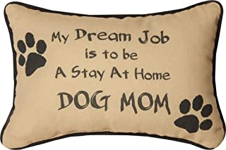 Manual Woodworker My Dream Job is to Be A Stay at Home Dog Mom Pillow - Dog Pillow - Outdoor/Indoor Pillow - Decorative Pi...