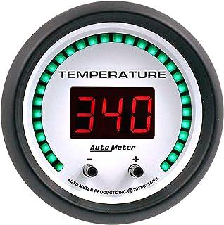 AutoMeter 6754-PH Gauge, Fluid Temperature, 2 1/16', 2 Chan, Selectable, Phantom Elite Digital