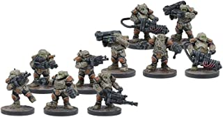 Mantic Games MGWPF301 Steel Warriors Play Set, Multi-Colour