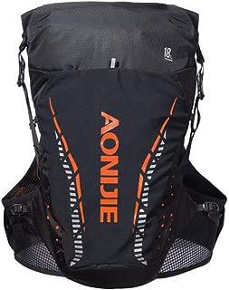 AONIJIE 5 L Nylon Sac dHydratation Trail Sac /à Dos Running Gilet de Course /à Pied pour Marathon Randonn/ée avec 1.5L Vessie deau