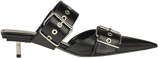 Luxury Fashion | Balenciaga Women MCGLCAT0000F8056I Black Leather Heels | Season Outlet