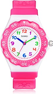 Kids Watch Waterproof Cute Cartoon Analog Quartz Grils...