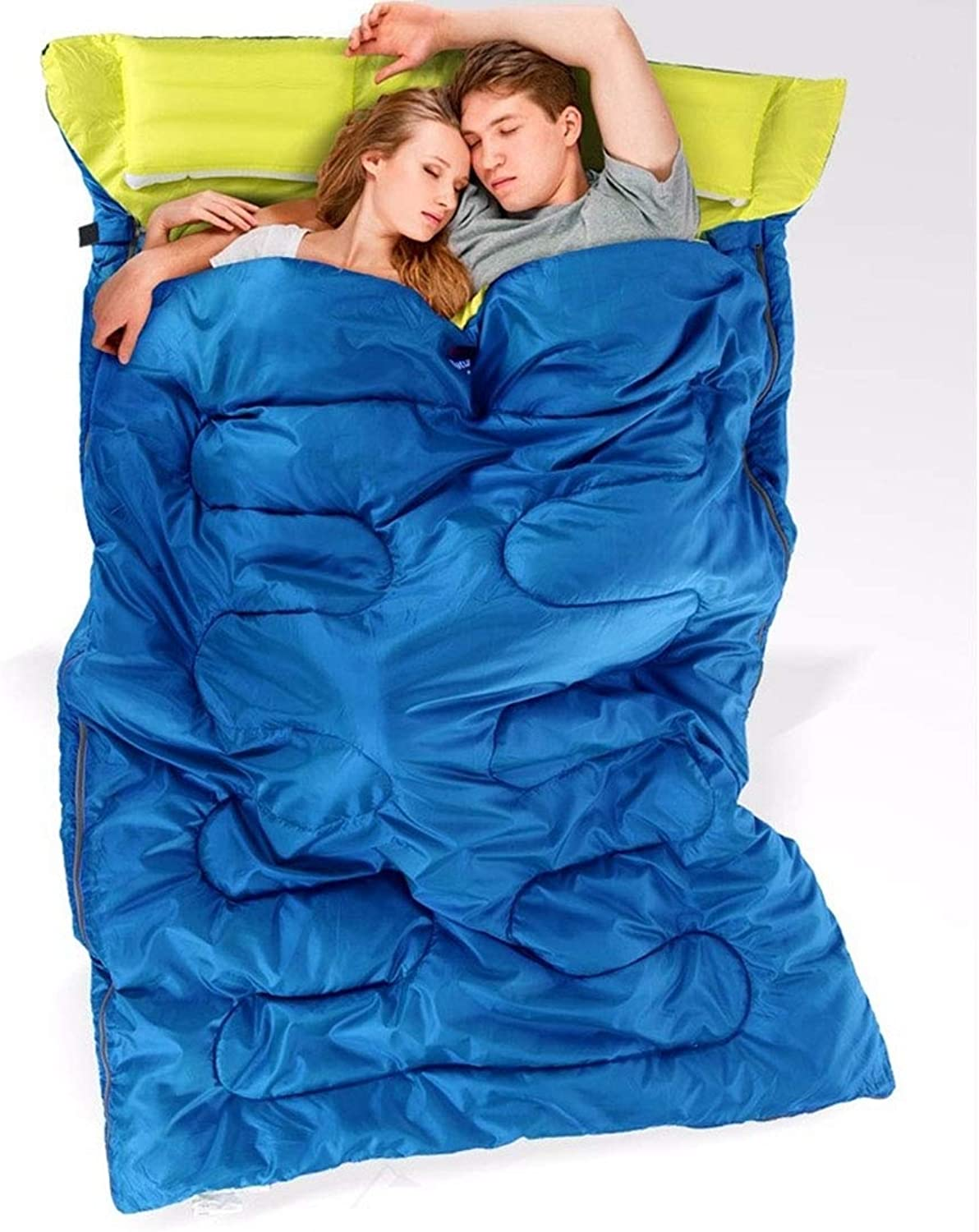 Outdoor Camping Pure Cotton Couple Sleeping Bags,for Outdoor Sport and so on