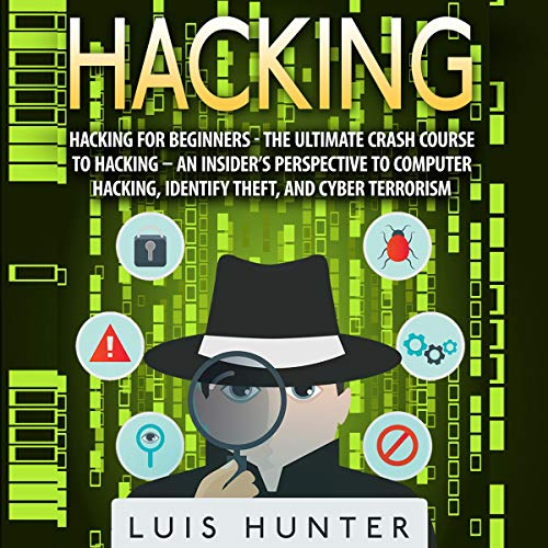 Hacking for Beginners audiobook cover art