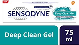 Sensodyne Deep Clean Toothpaste for Sensitive Teeth 75ml