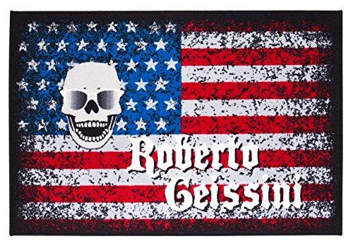Roberto Geissini Teppich American Lifestyle, pflegeleicht, robust, getuftet, Farbe:Bunt, Größe:100 x 150 cm