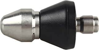 WILTEEXS Pressure Washer Sewer Jet Nozzle, Quick Connect Drain Cleaning Water Nozzle, 1/4 Inch 5000 PSI Orifice 0.7mm