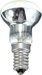 Bombilla E14 Soporte de luz 30W Blanco cálido 2700K 150lm R39 Reflector Foco de luz Lámpara de filamento incandescente
