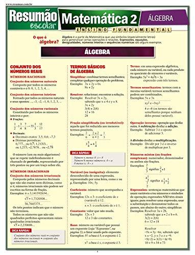 Matemática 2. Álgebra