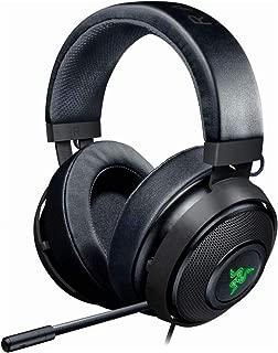 Razer Kraken 7.1 V2: 7.1 Surround Sound - Retractable Noise-Cancelling Mic - Lightweight Aluminum Frame - Gaming Headset Works with PC & PS4 - Gunmetal