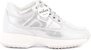 Hogan Luxury Fashion Womens HXW00N00E10MVPB200 Silver Sneakers |