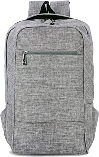 CHENDX Handbags Fashion New Men's and Women's Neutral Oxford Leisure Travel Backpack School Bag (Color : Gray, Size : 43cm*28cm*12cm)