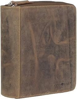 Greenburry Vintage 1787D-25 Funda de Cuero para Escribir Organizador de Anillas