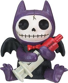 StealStreet Flappy Vampire Bat Furry Bones Statue Display