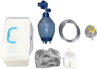 DeeploveUU 応急処置(口から口へ)PE透明マスクレスキューシールドハートボックス携帯用軽量持ち運びが簡単