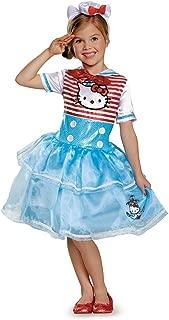 Girls Hello Kitty Sailor Deluxe Tutu Costume