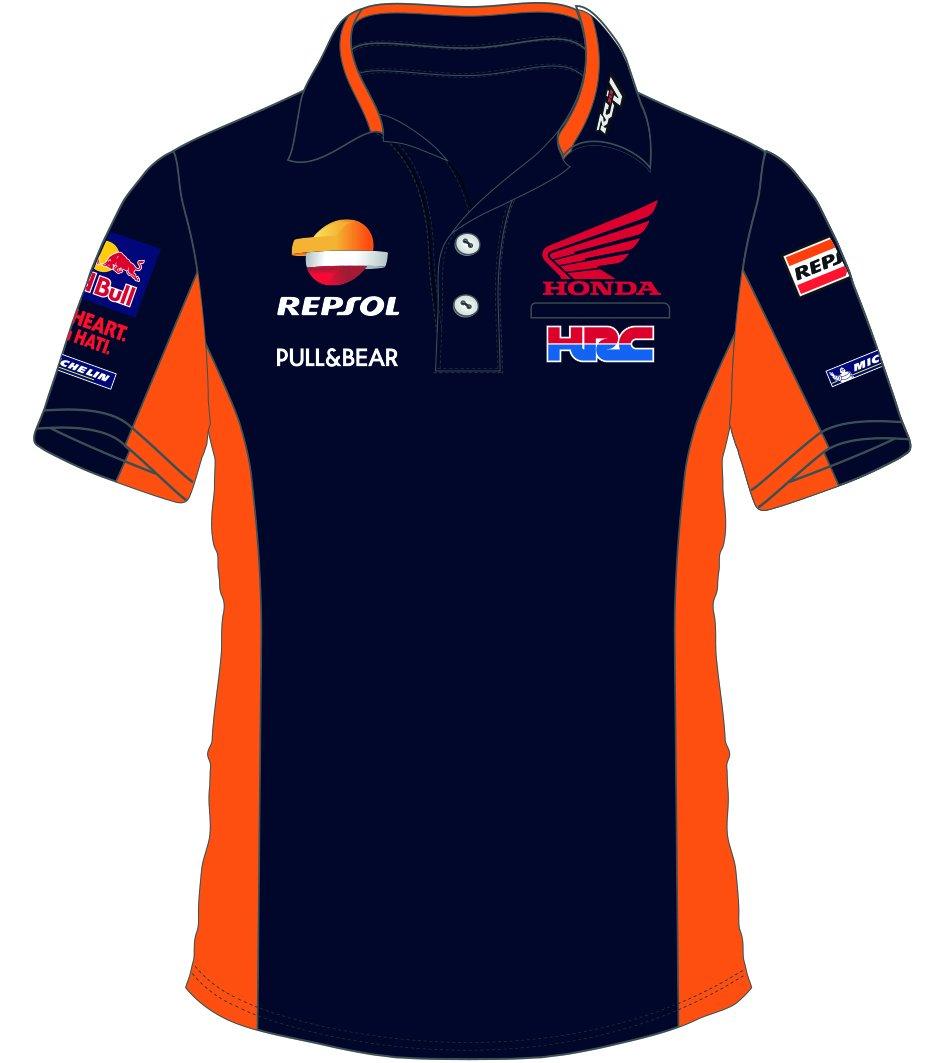 pritelli 1818501/M Honda Repsol Moto GP Teamwear Replica Polo ...