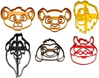 lion king cookie cutters