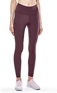 CRZ YOGA Women's High Waisted Yoga Pants with Pockets Naked Feeling Workout Leggings-25 Inches