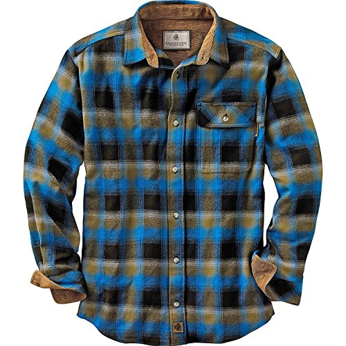 Legendary Whitetails Buck Camp Flannels Cobalt Plaid X-Large Tall