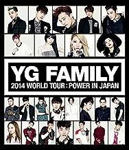 YG FAMILY WORLD TOUR 2014 -POWER- in Japan (Blu-ray) (Japan Version)[+ Big Bang postcard][+2NE1 autograph photo][+2NE1 mini postcard][+2NE1 message photocard]