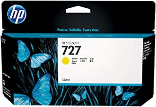 HP 727 (F9J78A) 300-ml Yellow Original Ink Cartridge for DesignJet T920, T2500