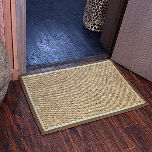 Radiancy Inc Sisal Vloermat Deurmat Voet Mat Porch Mat Linnen Thuis Mat Slijtvaste Riettapijt Balkon Mat 40 × 60cm