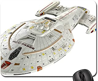 Mouse Pads - Spaceship Star Trek Model Isolated Science Fiction