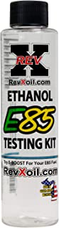 REV-X E85T0501 E85 Gasoline Tester - Easy to Use Ethanol Test Kit