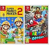 Super Mario Maker 2 + Super Mario Odyssey - Two Game Bundle - Nintendo Switch