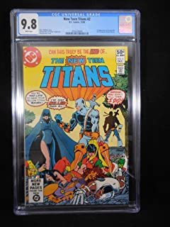 New Teen Titans #2 CGC 9.8 White Pages 1st Deathstroke