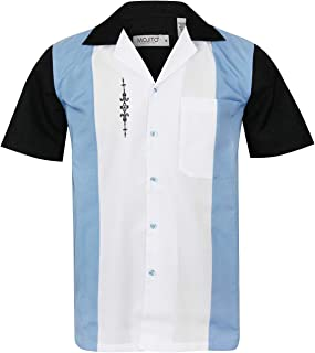 Guayabera Cuban Men's 3 Panel Beach Wedding Short Sleeve Button Up Casual Dress Embroidered Shirt