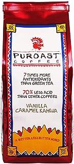 Puroast Coffee Ground Coffee, Vanilla Caramel Kahlua, 12 Ounce
