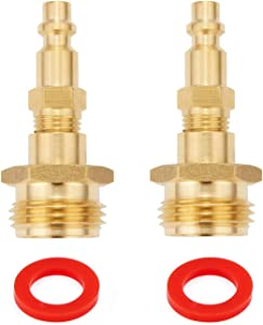 Minimprover 2PCS Combination Removable Air Compressor 1/4