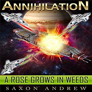 A Rose Grows in Weeds audiobook cover art