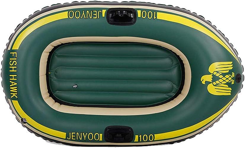Bateau Gonflable De Challenger ExtéRieur De Bateau en Caoutchouc Durable D'éPaisseur De Kayak Simple