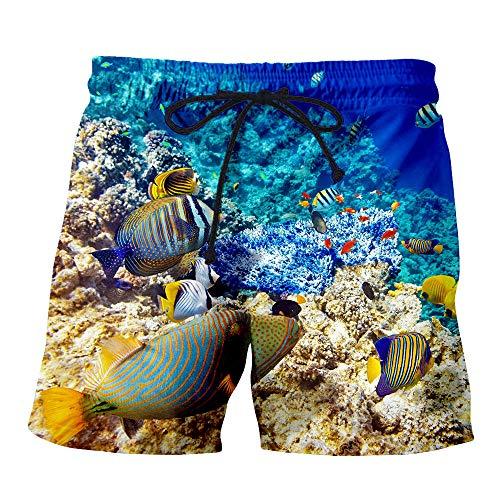 yyqx closed truck Badehose KurzUnterwasser Clownfisch 3D gedruckt Männer digital gedruckt Shorts-Color_6XL